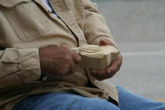 Tim Lewis Carving