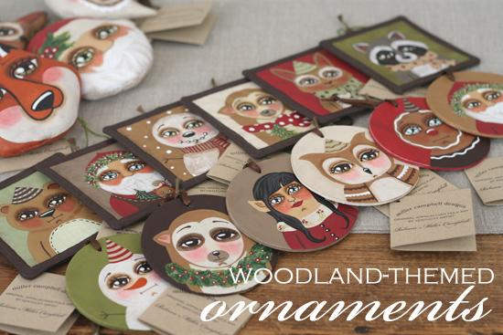 WoodlandThemedOrnaments